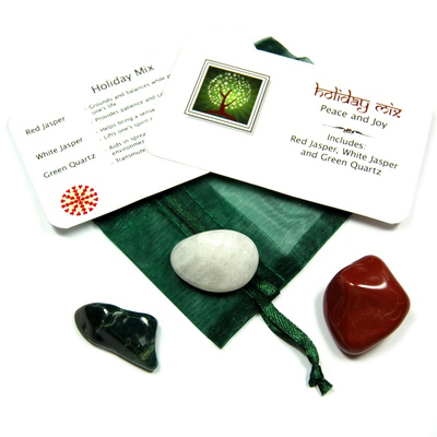 Mix - Tumbled Holiday Mix - 3 Piece Set w/Pouch