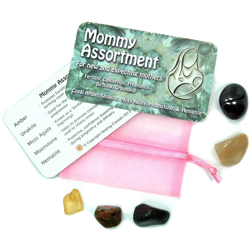 Mix - Tumbled Mommy Assortment - 5pc. Set w/Pouch