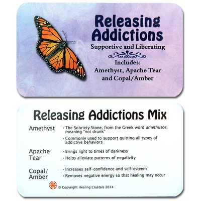 Mix - Tumbled Releasing Addiction Mix - 3 Piece Set w/Pouch