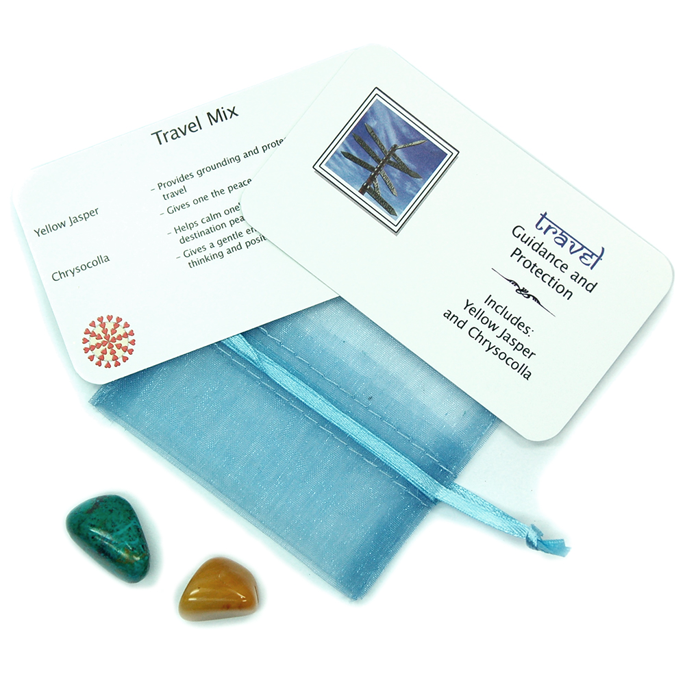 Mix - Tumbled Travel Mix - 2 Piece Set w/Pouch