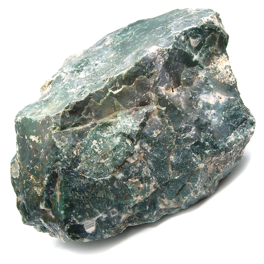 Specimen - Moss Agate Natural Chunks (India)