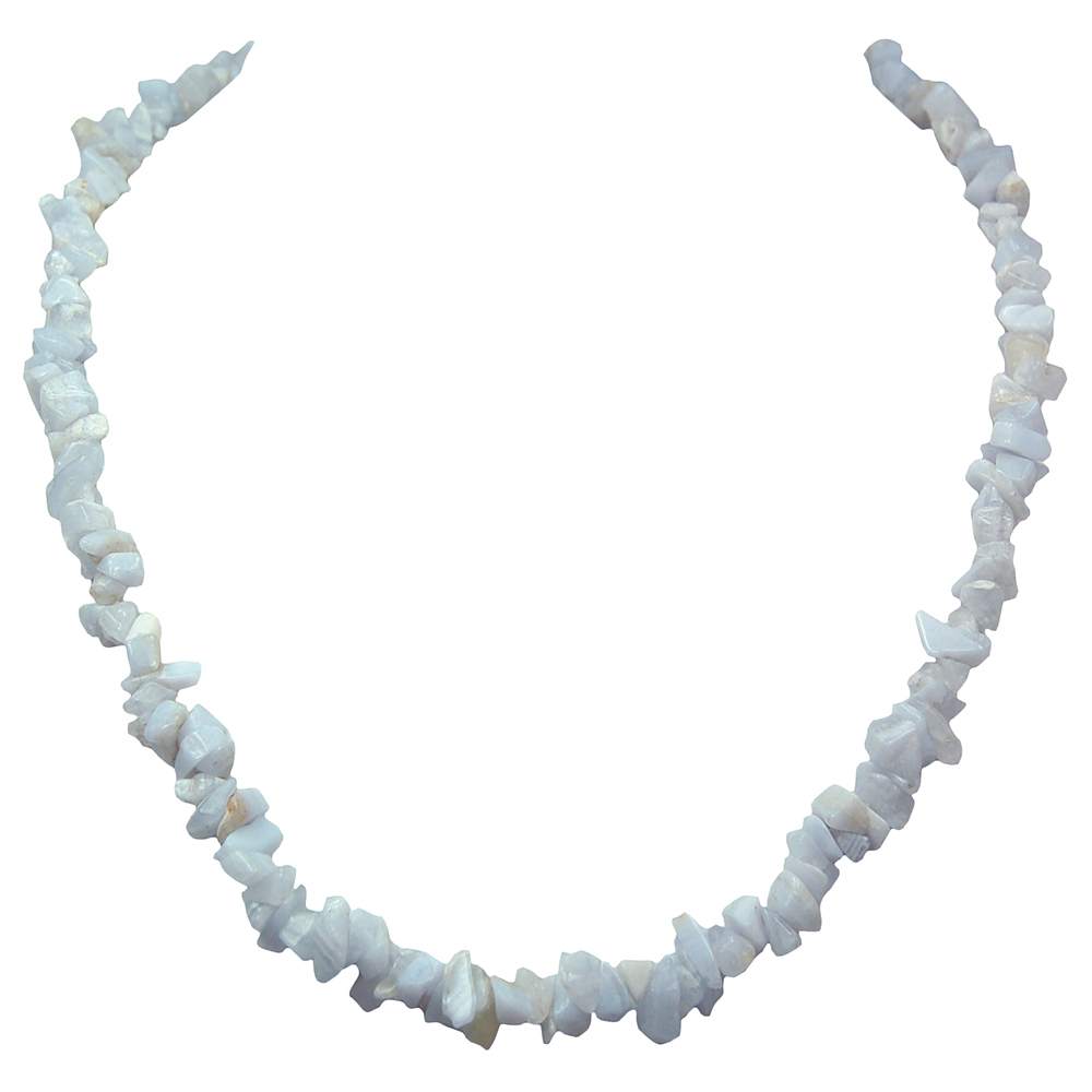 Necklaces Blue Lace Agate