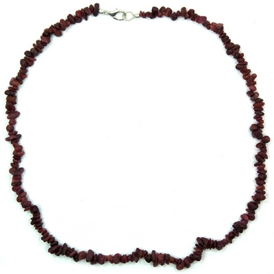 Necklaces - Ruby Tumbled Chips Necklace (India)