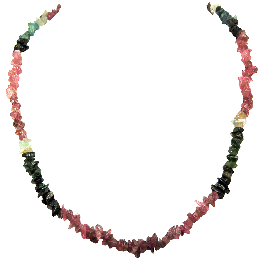 Necklaces - Tourmaline Multi-Chips Necklace (India)