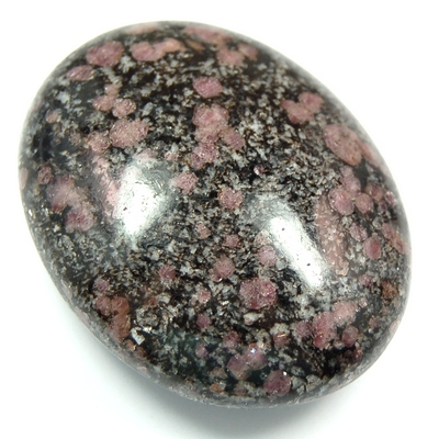 Palm Stones - Spinel in Matrix Palm Stone (India)