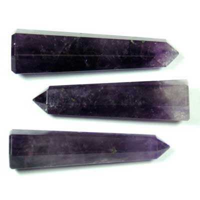Pencil - Amethyst 6-Sided Pencil