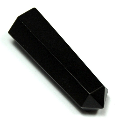 Pencil - Black Agate 6-Sided Pencil (India)