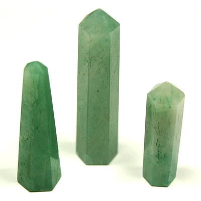 Pencil - Green Aventurine 6-Sided Pencil (India)