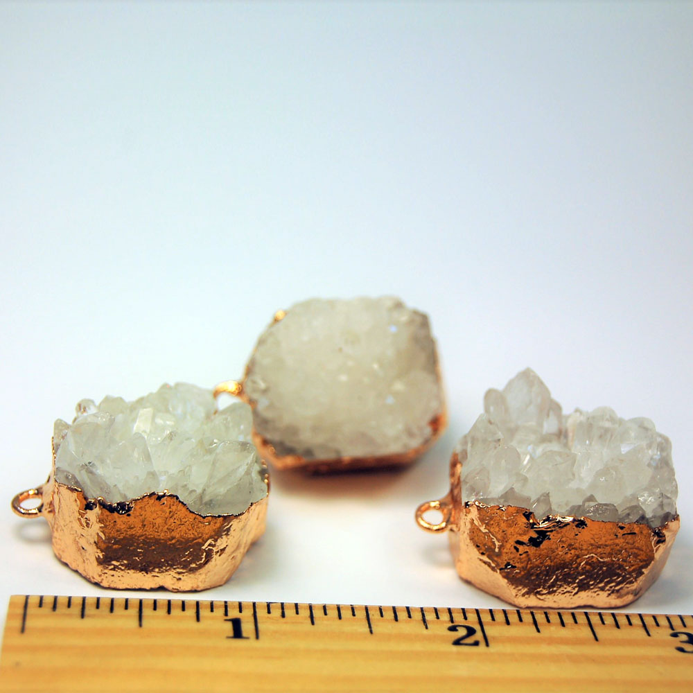Pendant - Clear Quartz Natural Cluster Pendant (China)