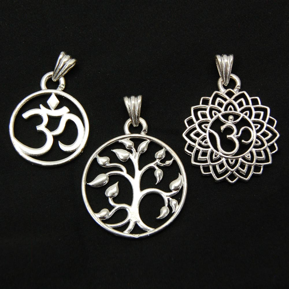 Pendants - Assorted Silver-Plated Pendant
