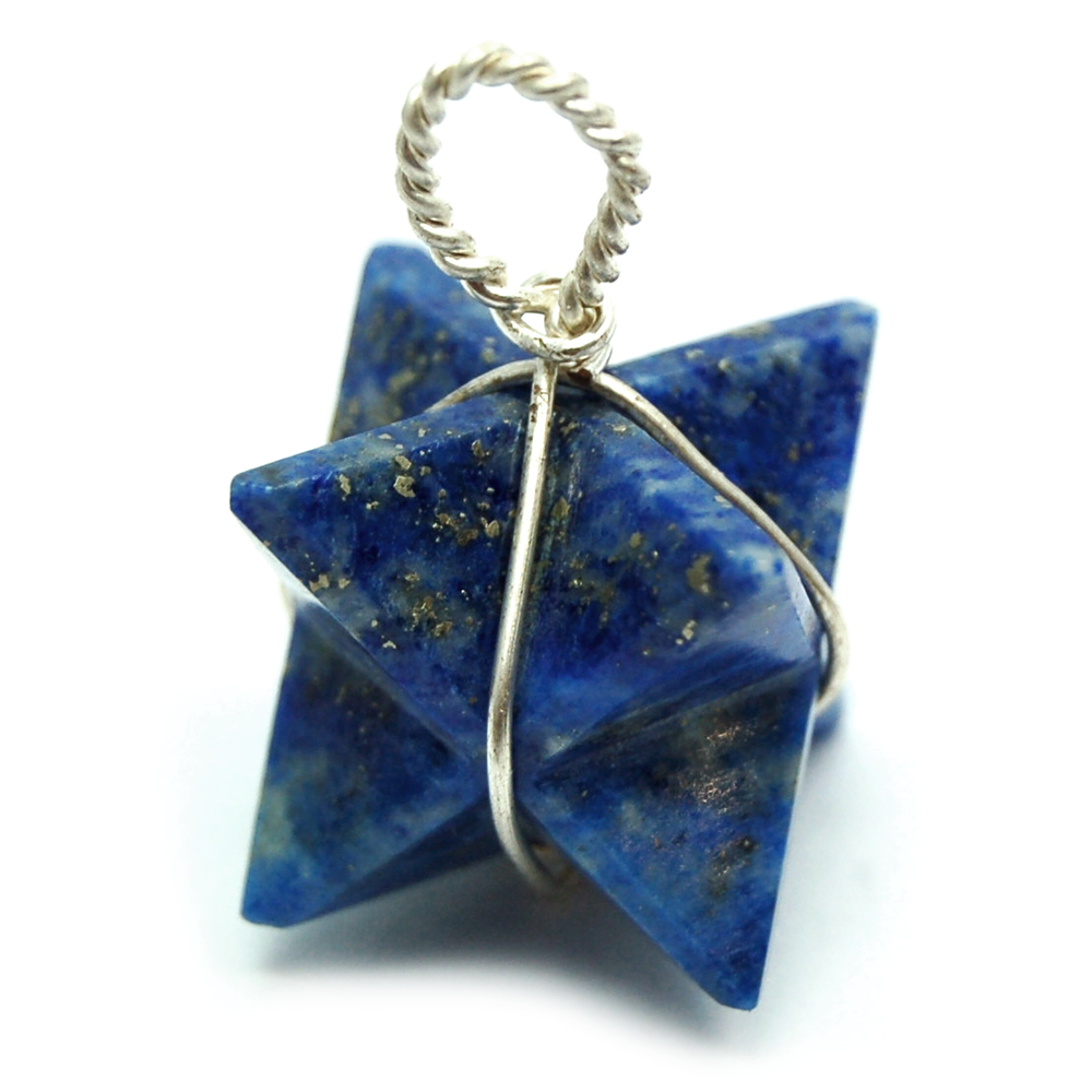 Pendants lapis lazuli merkaba pendant wrapped india lapis pictures represent typical quality mozeypictures Gallery