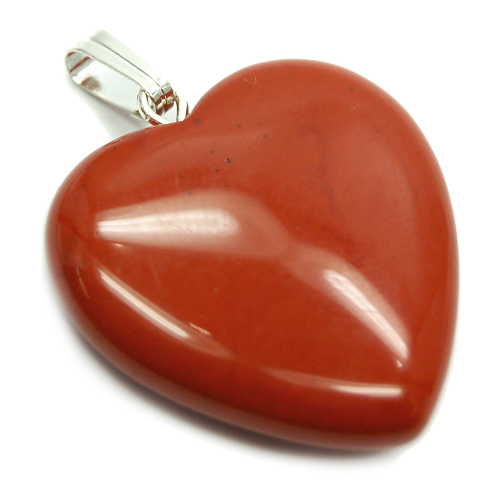 Pendants - Red Jasper Heart Pendant