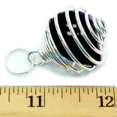 Discontinued - Tumbled Stones in Spiral Cage Assortment 2