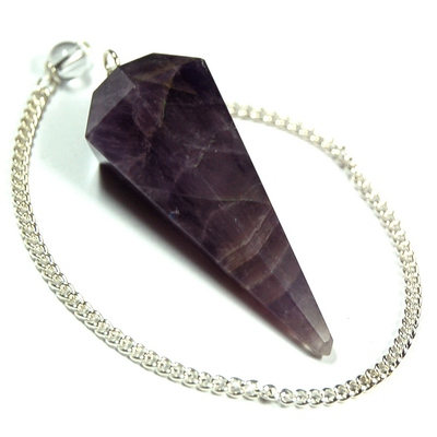 Pendulum - Faceted Amethyst Pendulums photo 5