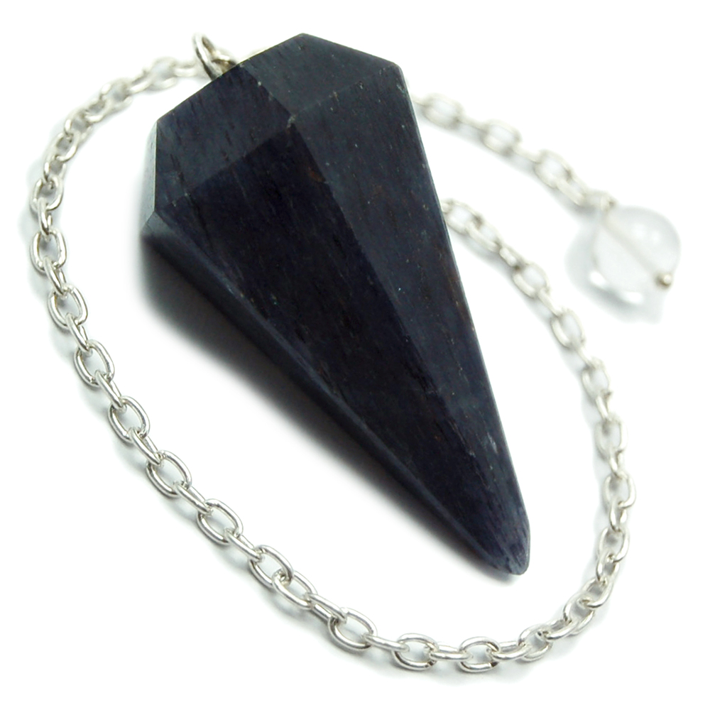 Discontinued - Blue Aventurine 6-Sided Pendulums (India)