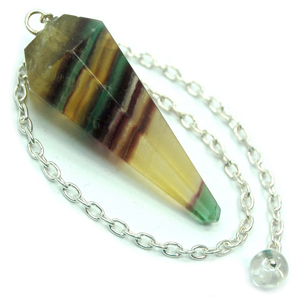Pendulum - Fluorite 6-Sided Pendulums (India)