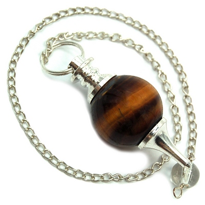 Pendulum - Golden Tiger Eye Sphere Pendulums (India)