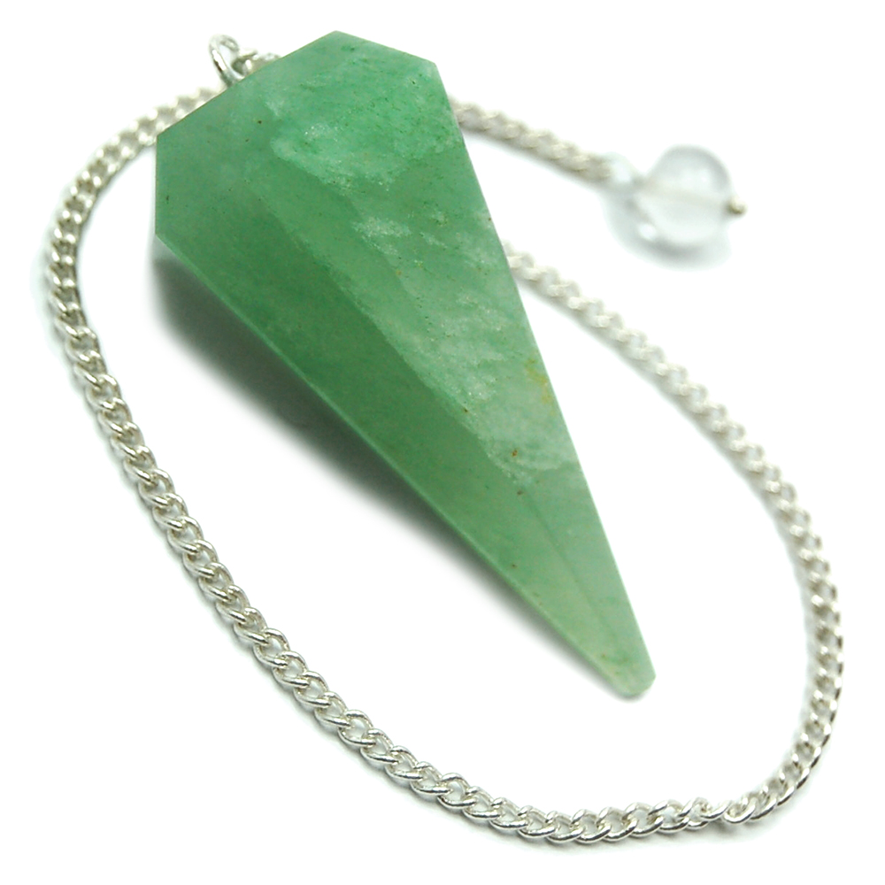 Pendulum - Green Aventurine 6-Sided Pendulums (India)