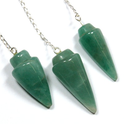 Pendulum - Faceted Green Aventurine Pendulums photo 4