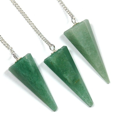 Pendulum - Faceted Green Aventurine Pendulums photo 7
