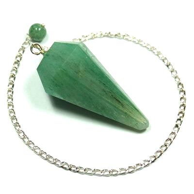 Pendulum - Faceted Green Aventurine Pendulums photo 2