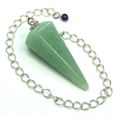Pendulum - Faceted Green Aventurine Pendulums photo 3