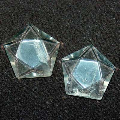 Pentagon Star - Clear Quartz 5-Sided Star (Brazil)
