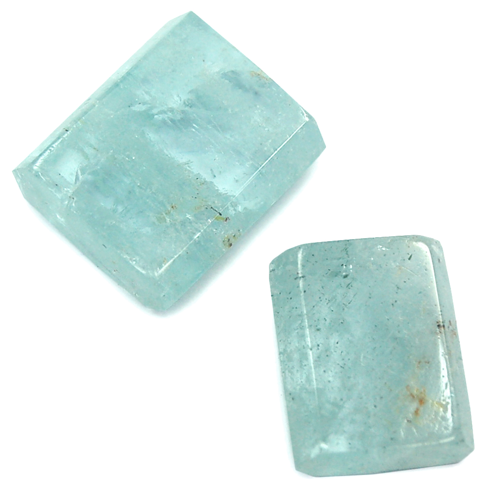 Polished Bars - Aquamarine Polished Bars (Brazil)