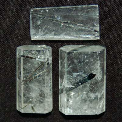 Polished Bars - Tourmalated Quartz Polished Bars (Brazil)