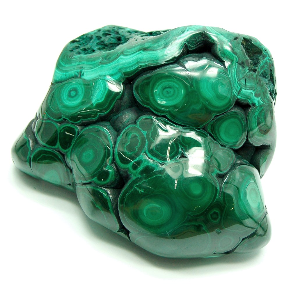 Polished Crystals - Malachite Polished Free-Forms (China)