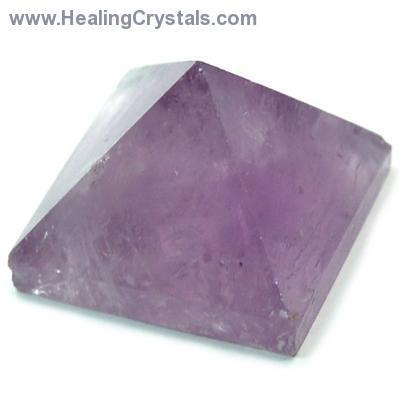 Pyramid - Amethyst Crystal Pyramids photo 6