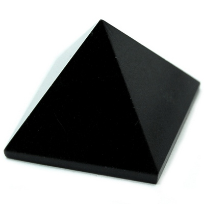 Pyramid - Black Agate Pyramids (India)