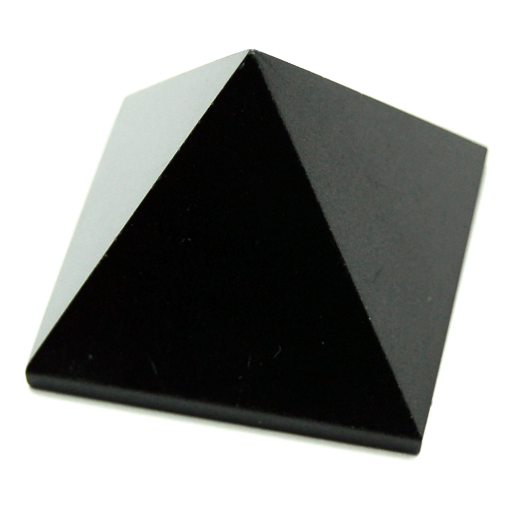 Discontinued - Black Agate Pyramids (India)