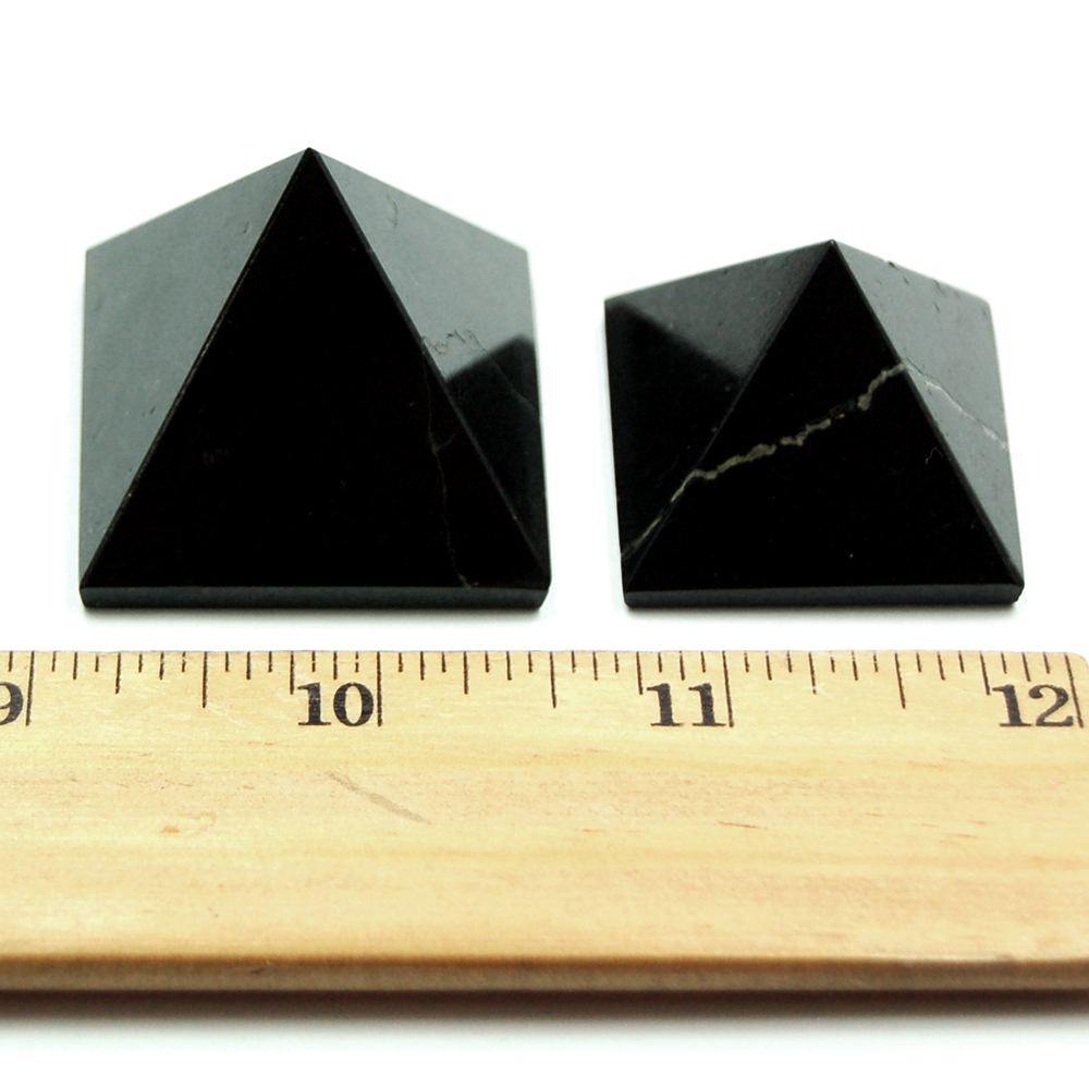 Pyramid - Black Tourmaline Pyramid (India)