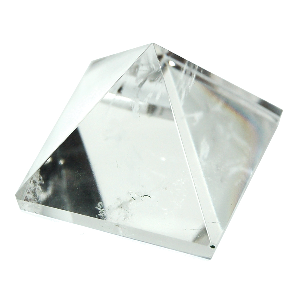 "Pyramid - Clear Quartz Pyramids ""Extra/A"" (Brazil & India)"