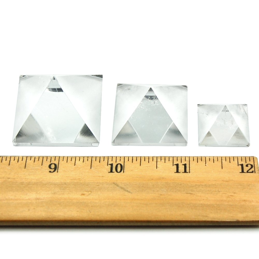 Pyramid - Clear Quartz Crystal Pyramids photo 4