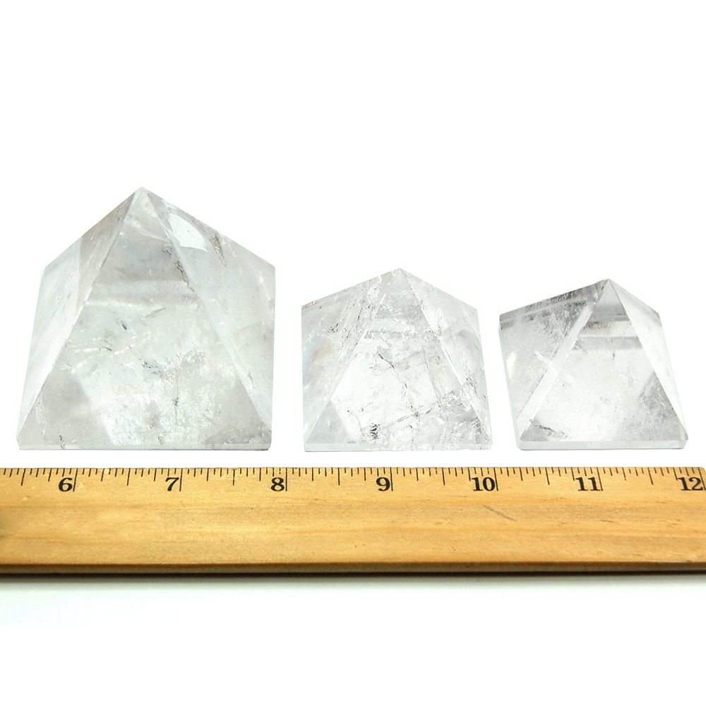 Pyramid - Clear Quartz Crystal Pyramids photo 6