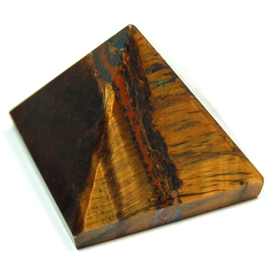 Pyramid - Golden Tiger Eye Pyramids (India)
