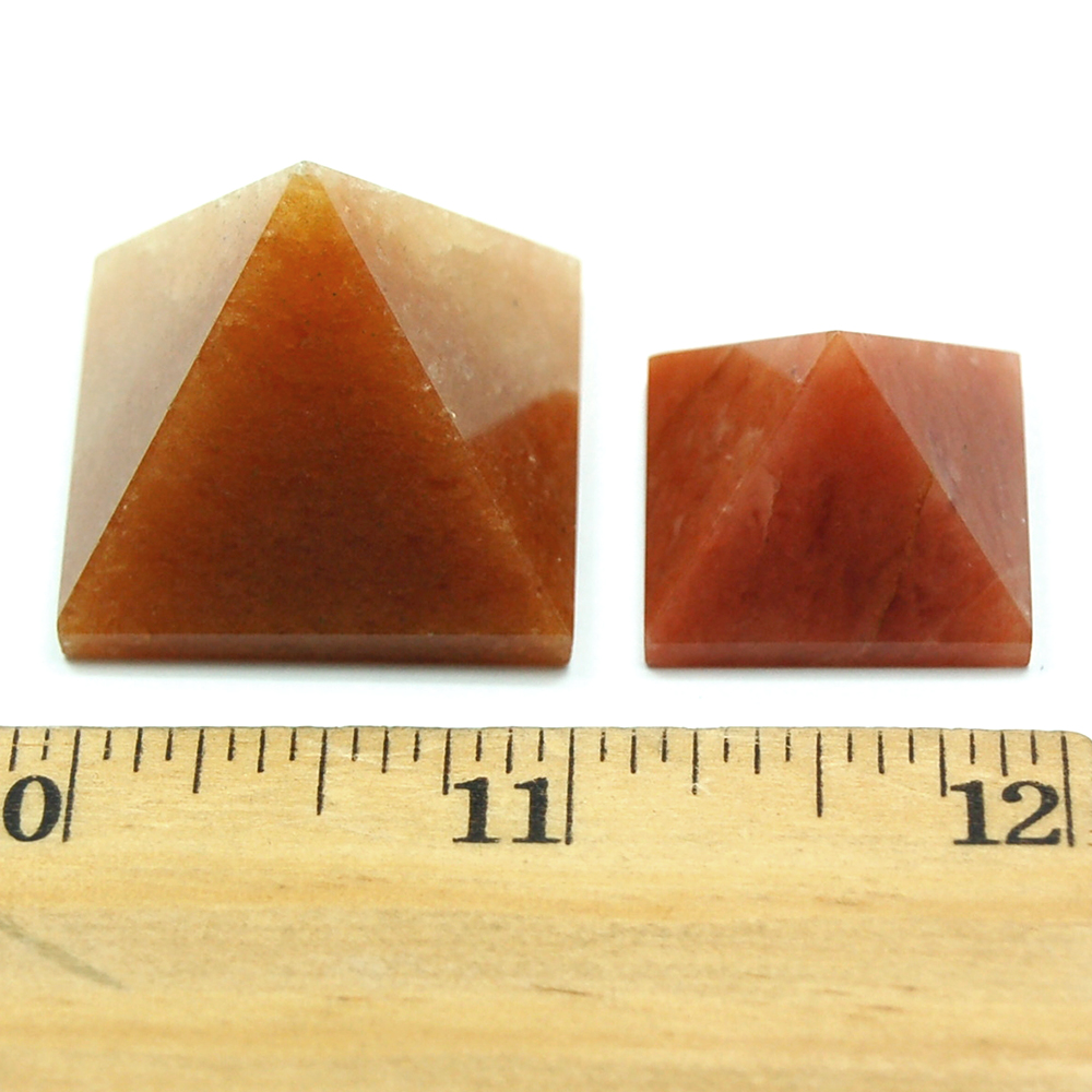 Pyramid - Orange Aventurine Crystal Pyramids photo 4