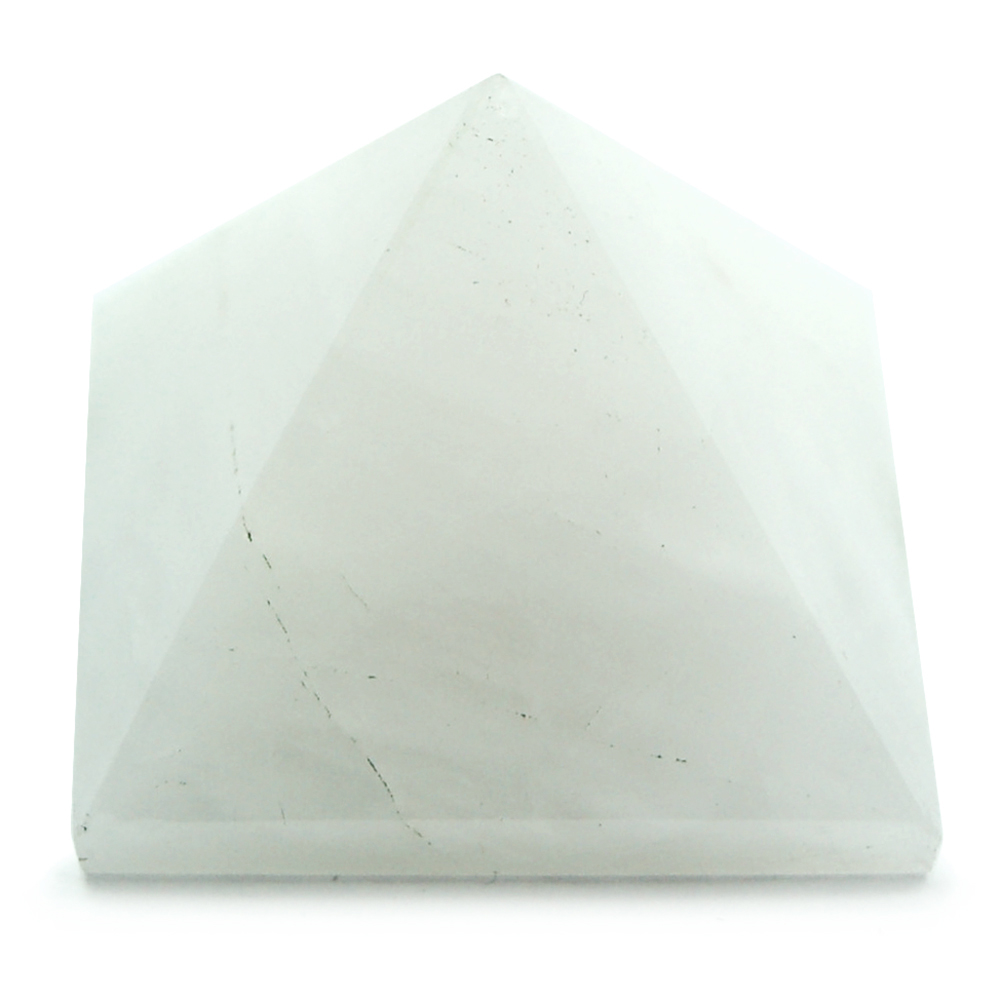 Discontinued - White Aventurine Pyramids (India)
