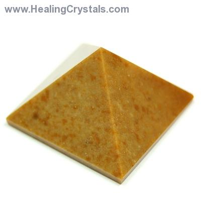 Discontinued - Yellow Jasper Pyramids (South Africa)