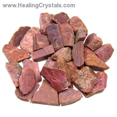 "Ruby - Ruby Natural (Rock Ruby) Chips ""Extra\"" (India)"