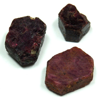 "Ruby Tabular Crystals ""Extra"" photo 3"