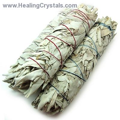 "Sage - White Sage Smudge Sticks (8"" - 9"")"
