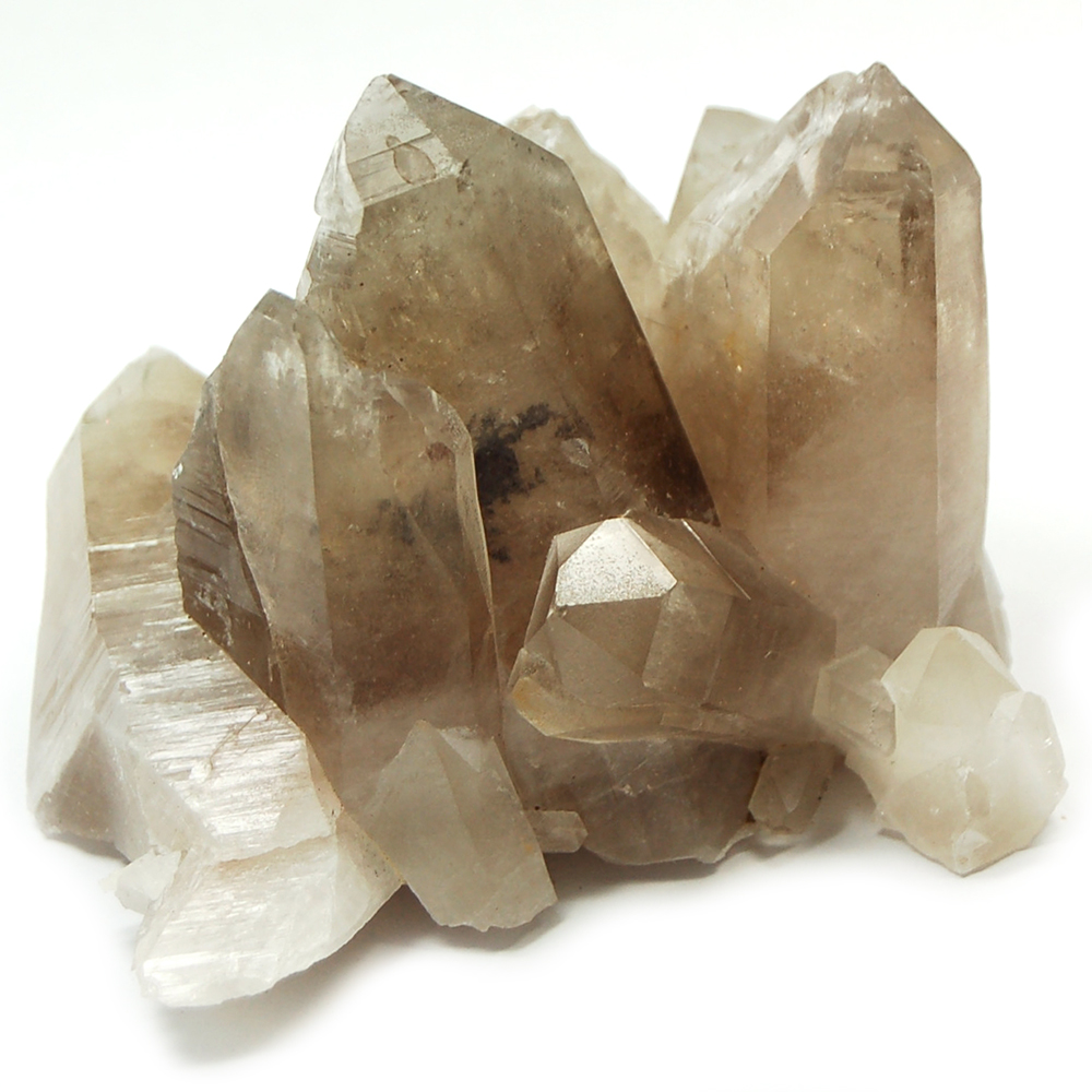 Natural Smokey Quartz Cluster