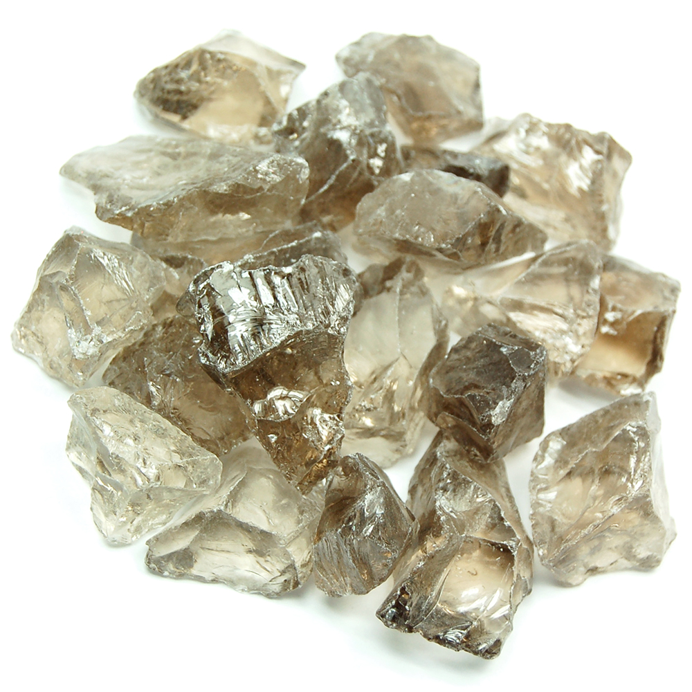 "Smokey Quartz - Smokey Quartz Natural Chunks ""A"" (Brazil)"