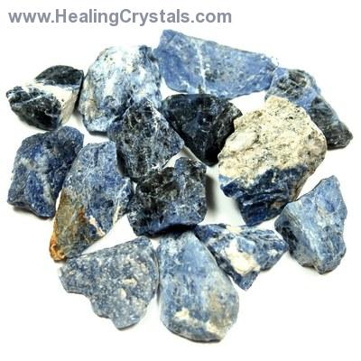 Discontinued - Rough Sodalite Chunk photo 2
