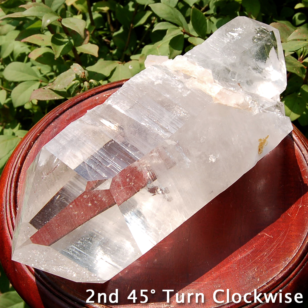 Specimen - Clear Quartz DT Specimen Point #2 (Arkansas)