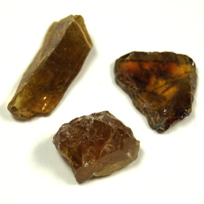 Sphene - Yellow Sphene (Titanite) Chips/Chunks (Pakistan)