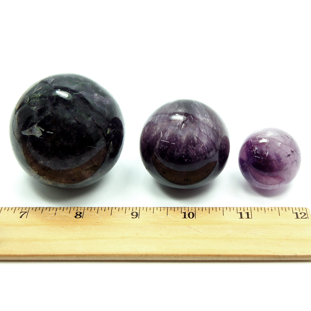 Sphere - Amethyst Crystal Spheres (India) photo 4